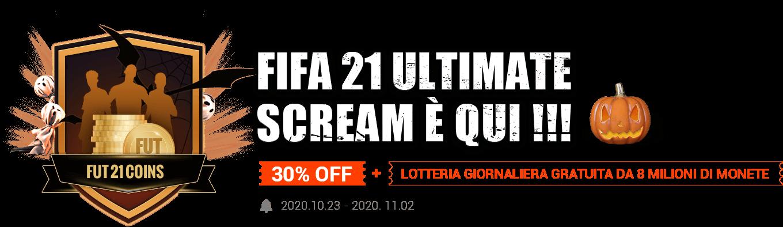 FIFA 21 Ultimate Scream Comes