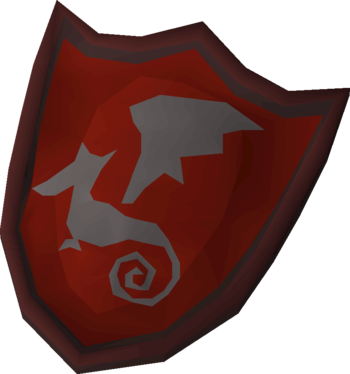 Dragon kiteshield