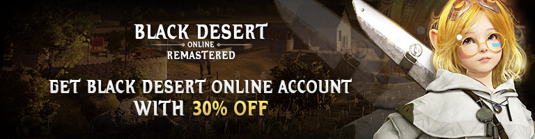 Black Desert Account | BDO Account - Secure Buy & Sell at